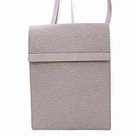 Louis Vuitton Ramatuelle Lilac Epi 866912 Grey Leather Shoulder Bag