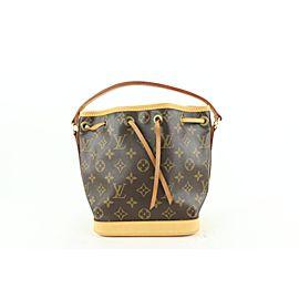 Louis Vuitton Rare Monogram Mini Noe BB 613lvs616