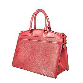 Louis Vuitton Riviera Boston Red Epi Leather Vanity Tote 2LVA724