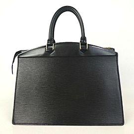 Louis Vuitton Black Epi Noir Riviera Vanity Tote 872780