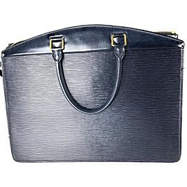 Louis Vuitton Riviera Vanity Tote 10l613 Black Epi Leather Satchel