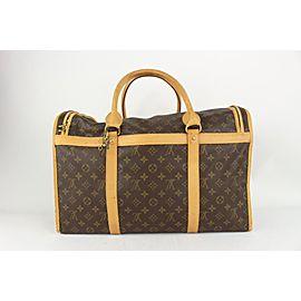 Louis Vuitton Discontinued Monogram Sac Chien 50 Dog Carrier Pet Travel Bag 818lv68