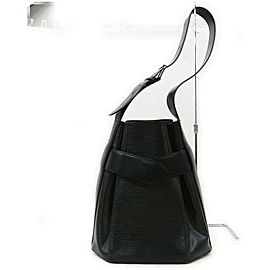 Louis Vuitton Black Epi Leather Sac Depaule PM Twist Bucket Bag 862932