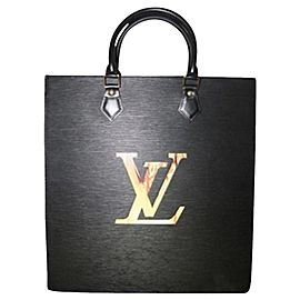 Louis Vuitton Louis Vuitton Sac Plat Fusion Black Epi Leather Fire LED ELVLM19