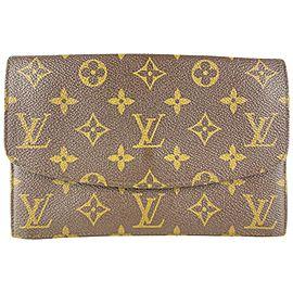 Louis Vuitton Monogram Sac Rabat Clutch Envelope 349lvs520