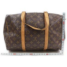 Louis Vuitton Monogram Sac Souple 35 Boston Bag 863054