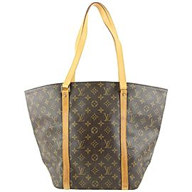 Louis Vuitton Monogram Sac Weekend Tote Bag 714lvs323