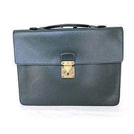 Louis Vuitton Serviette Kourad Briefcase 226606 Epicea Taiga Leather Laptop Bag