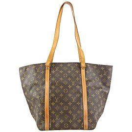 Louis Vuitton Monogram Sac Shopping tote Bag 371lvs525