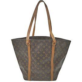 Louis Vuitton Monogram Sac Shopping Tote Bag 862886