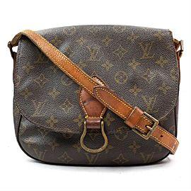 Louis Vuitton Monogram Saint Cloud Crossbody Bag 863490