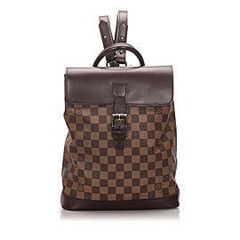 Louis Vuitton Damier Ebene Soho Backpack 863170