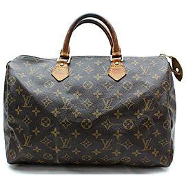 Louis Vuitton Speedy 35 Boston Mm 872413 Brown Monogram Satchel
