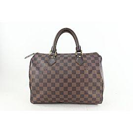 Louis Vuitton Damier Ebene Speedy 30 Boston Bag 715lvs622