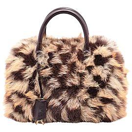 Louis Vuitton Damier Fox Fur Clair-Obscur Speedy 30 Bag 857403