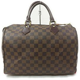 Louis Vuitton Damier Ebene Speedy 30 Boston Bag 863139