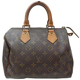 Louis Vuitton Monogram Speedy 25 Boston PM 860668