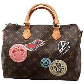 Louis Vuitton My LV World Tour Monogram Speedy Bandouliere 30 with Strap 861419