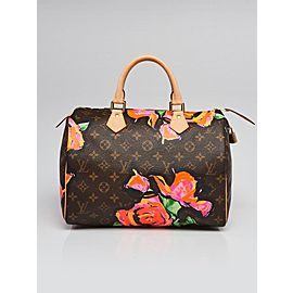 Louis Vuitton Stephen Sprouse Monogram Roses Speedy 30 860773