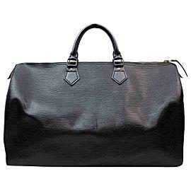 Louis Vuitton Black Epi Leather Noir Speedy 40 GM Large XL 855262