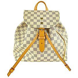 Louis Vuitton Damier Azur Sperone Backpack 861384