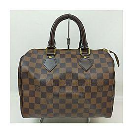 Louis Vuitton Damier Ebene Speedy 25 Boston Bag 863293