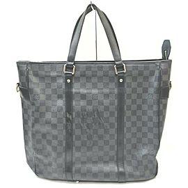 Louis Vuitton Damier Graphite Tadao MM Tote 861736