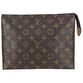Louis Vuitton Discontinued Monogram Toiletry Pouch 26 Poche Toilette 819lv71