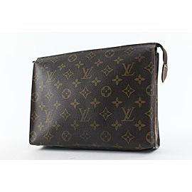 Louis Vuitton Monogram Toiletry Pouch 26 Poche Toilette Make Up bag 5LV824
