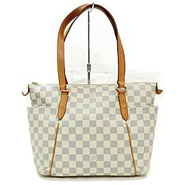 Louis Vuitton 872257 Damier Azur Totally PM Zip Tote