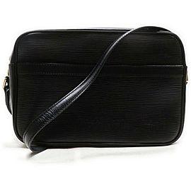 Louis Vuitton Black Epi Leather Noir Trocadero 24 Crossbody Bag 863007
