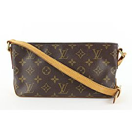 Louis Vuitton Monogram Trotteur Crossbody Bag 817lvs47