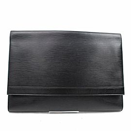 Louis Vuitton (ULTRA RARE) Extra Large Epi Clutch Porftoflio Document 859863