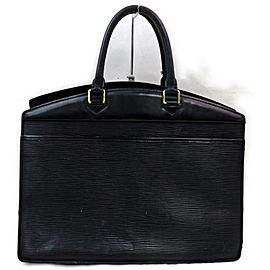 Louis Vuitton Vanity Case Riviera 872008 Noir Black Epi Leather Weekend/Travel Bag
