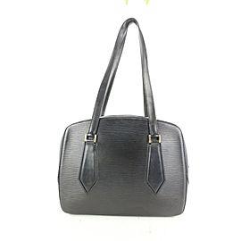Louis Vuitton Black Epi Leather Voltaire Shoulder Bag 686lvs621