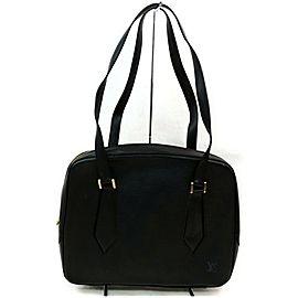 Louis Vuitton Voltaire Noir 872556 Black Epi Leather Shoulder Bag