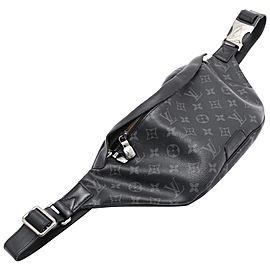 Louis Vuitton Black Monogram Eclipse Bumbag Discovery Fanny Pack Waist Bag 861867