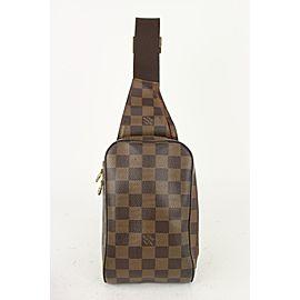 Louis Vuitton Damier Ebene Geronimos Waist Bag 823lv23