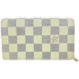 Louis Vuitton Damier Azur Compact Snap Wallet 44LVa1117
