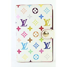 Louis Vuitton Monogram Multicolor Carnet De Bal Mini Agenda Notebook Cover 862612