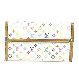 Louis Vuitton Monogram Multicolor Sarah Bifold Wallet 23LK0109