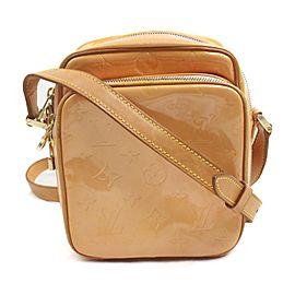 Louis Vuitton Pink Salmon Monogram Vernis Wooster Crossbody Bag