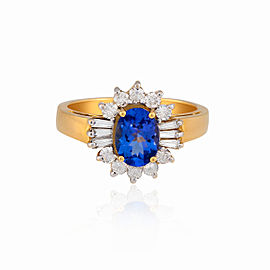 Le Vian Certified Pre-Owned Blueberry Tanzanite Ring