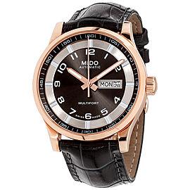 Mido Multifort M0054303606252 42mm Mens Watch