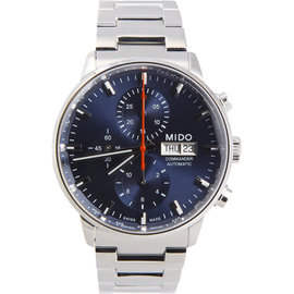 Mido Commander M0164141104100 43mm Mens Watch
