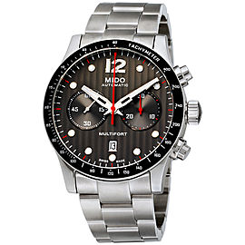 Mido Multifort M0256271106100 44mm Mens Watch
