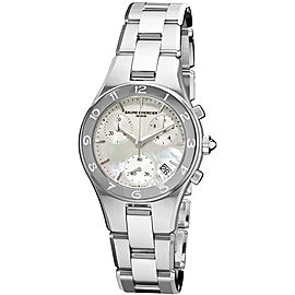 Baume & Mercier Linea 10012 Stainless Steel Quartz Womens 32mm Watch