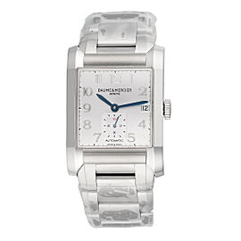 Baume & Mercier Hampton 10047 Automatic Silver Dial 45mm Mens Watch