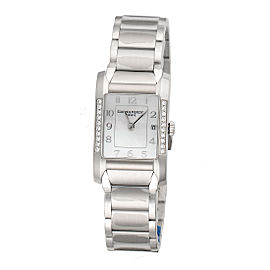 Baume & Mercier Hampton 10051 Stainless Steel Quartz 34.5mm Womens Watch