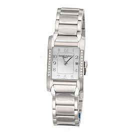 Baume & Mercier Hampton 10051 Stainless Steel Quartz 34.5mm Womens Watch